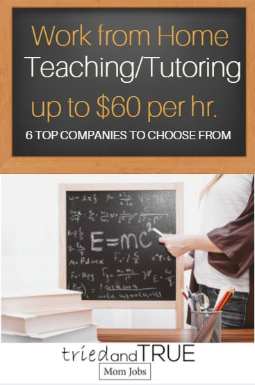 The best online tutoring jobs hiring now, up to $60 per hour.