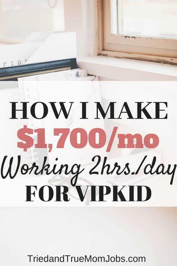 How to Teach English Online for VIPKID- Up to $2,000/mo. Part-time