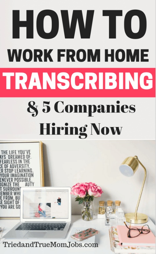 Do you want to learn how to work from home as a transcriptionist? You'll have to check out this interview with a stay-at-home mom who does this to bring in extra money with the flexibility to still homeschool. Also you'll see 5 companies hiring now.