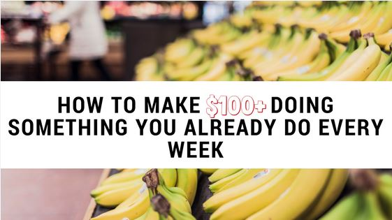 How to Make $100 or More a Day Doing Something You Do Every Week