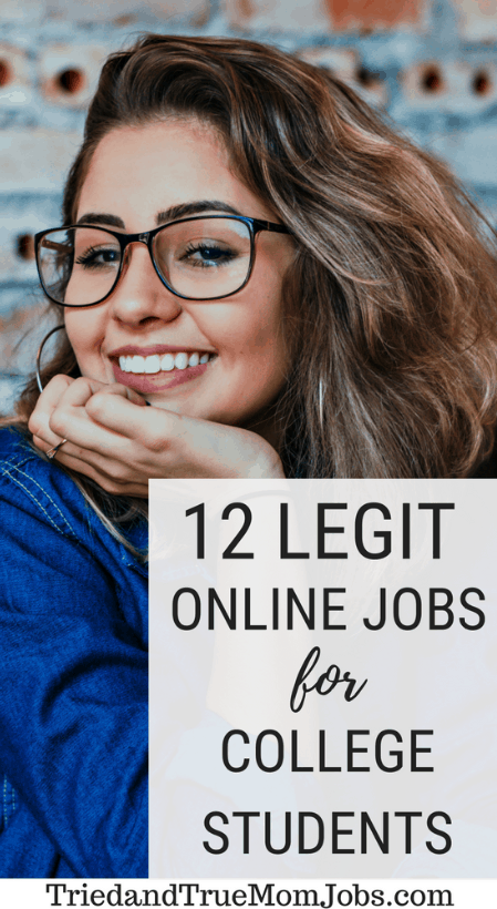 14 Little-Known Online Jobs for College Students That Pay