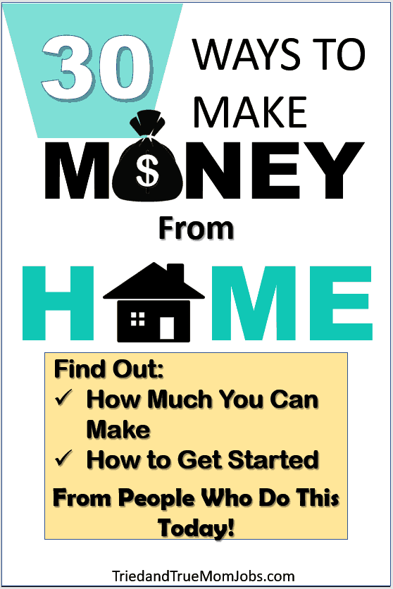 30 Best Ways to Make Money from Home in 2019 - I Earn $5,000/mo w/ #1