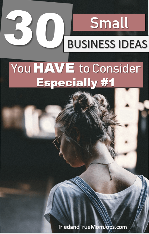 Do you want to start your own business but have this one little problem…you have no idea what to do? Well, that's okay because I have a list full of small business ideas to help you figure it out!