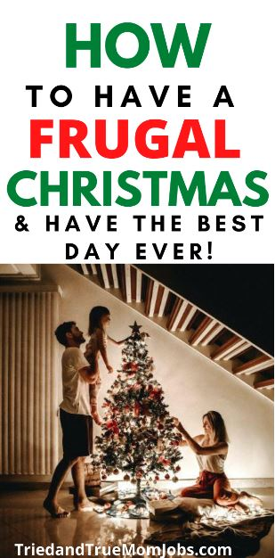 How to have a frugal christmas