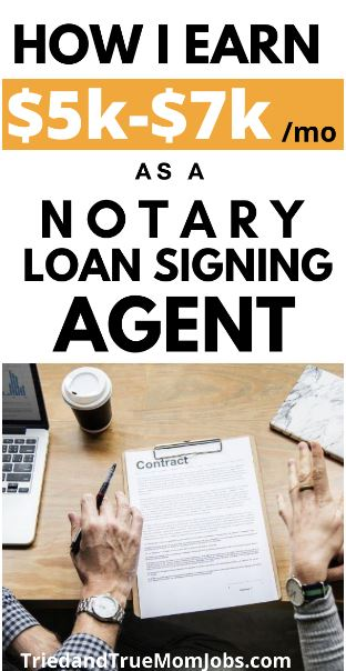 loan signing agent